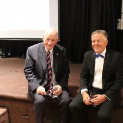 Hon. Mr Tim Fischer, Former Deputy Prime Minister and Former Ambassador to the Holy See, Rome and Mr Eddie Bos